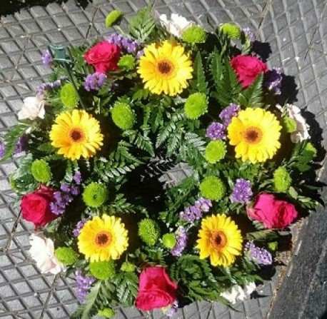 Wreath - Colourful