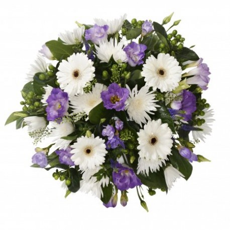 Lilac and White Posy