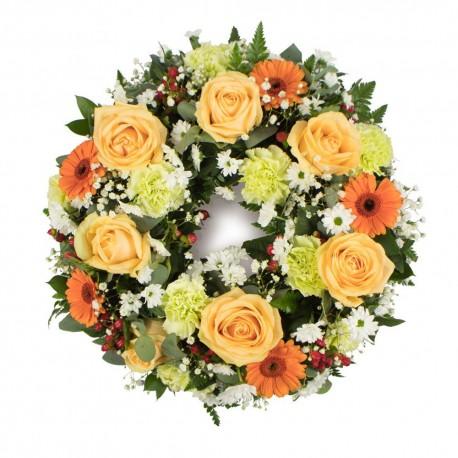 Wreath - Peachy