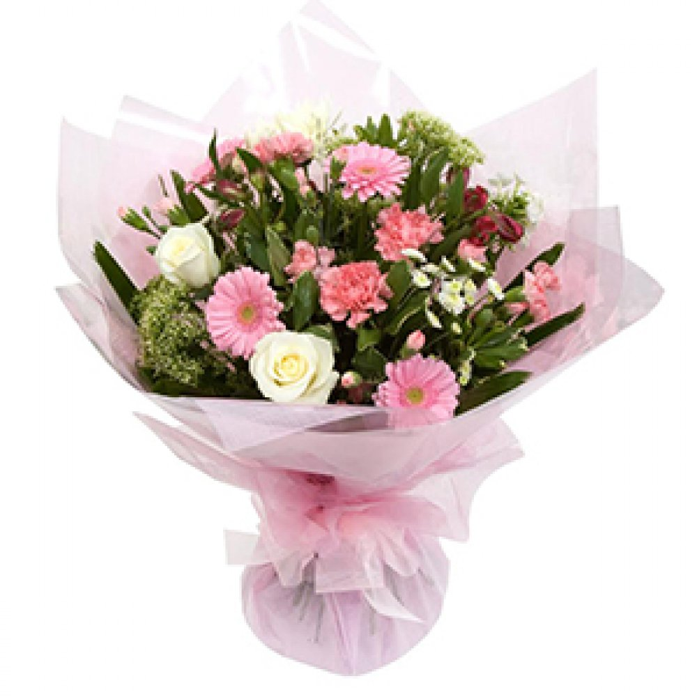 Pretty in Pink - Hand-tied Aqua Pack